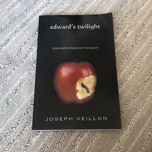 Other - Edward's Version of Twilight BOOK